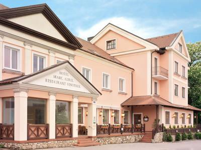 Außenansicht Hotel Marc Aurel, Petronell-Carnuntum