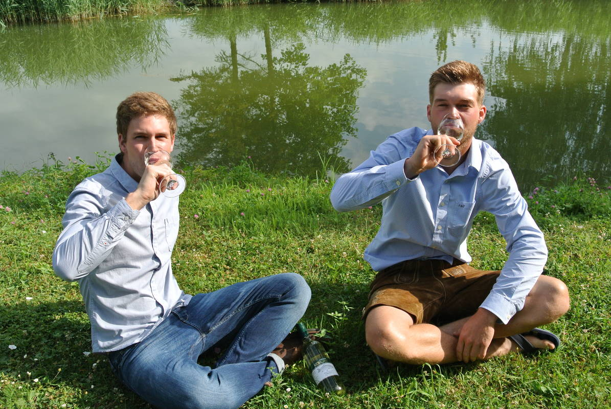 Hannes und Thomas Keiblinger