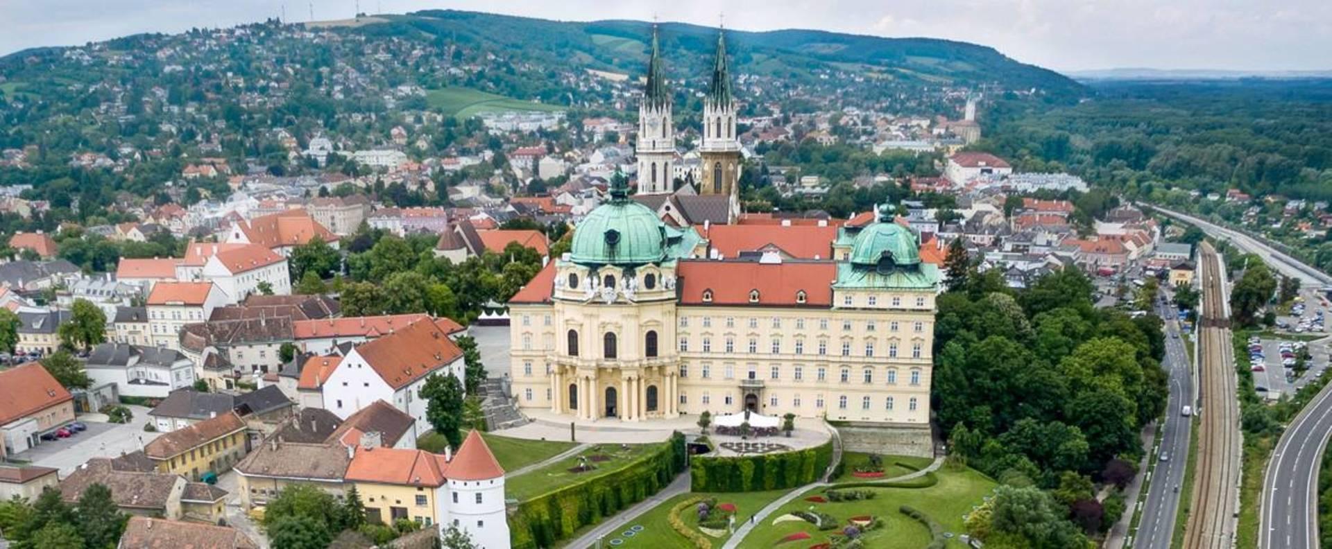 Stift Klosterneuburg Panorama