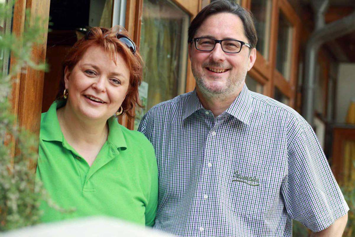 Susanne und Harald Stumpfer,Ihre Gastgeber.