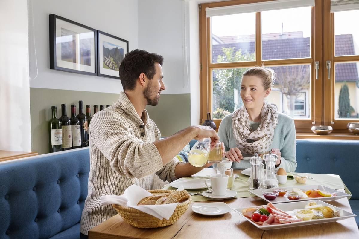 Frühstück im Weingut und Gästezimmer Edelmann, Göttlesbrunn