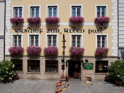 Hotel Restaurant Alte Post Außenansicht
