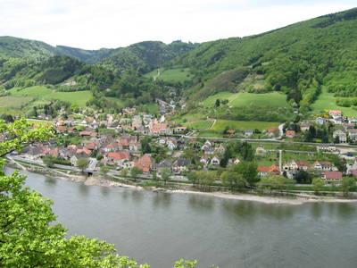 Aggsbach Luftaufnahme