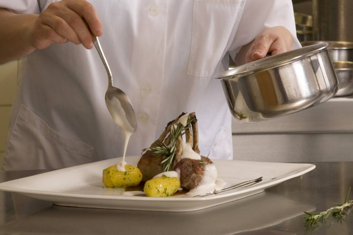 """Speisen im Hotel """"Wachau"""""""