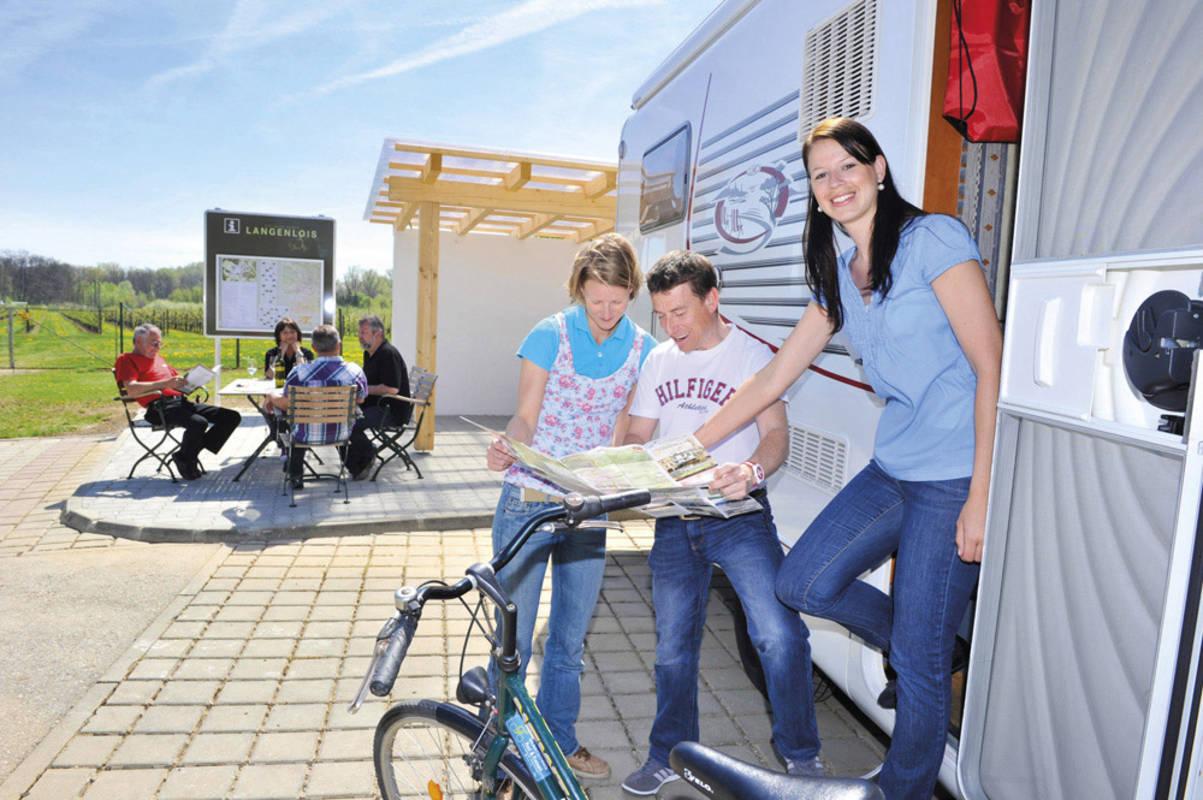 Reisemobilstellplatz Langenlois