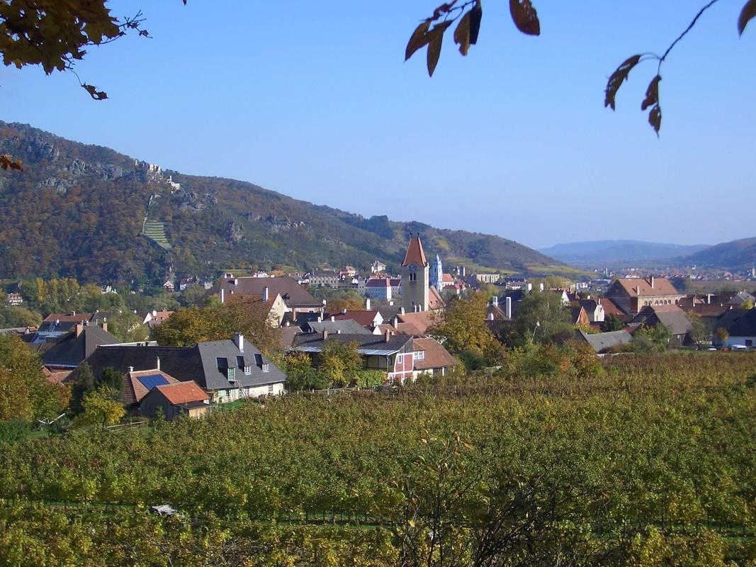 Panoramaweg in Rossatz