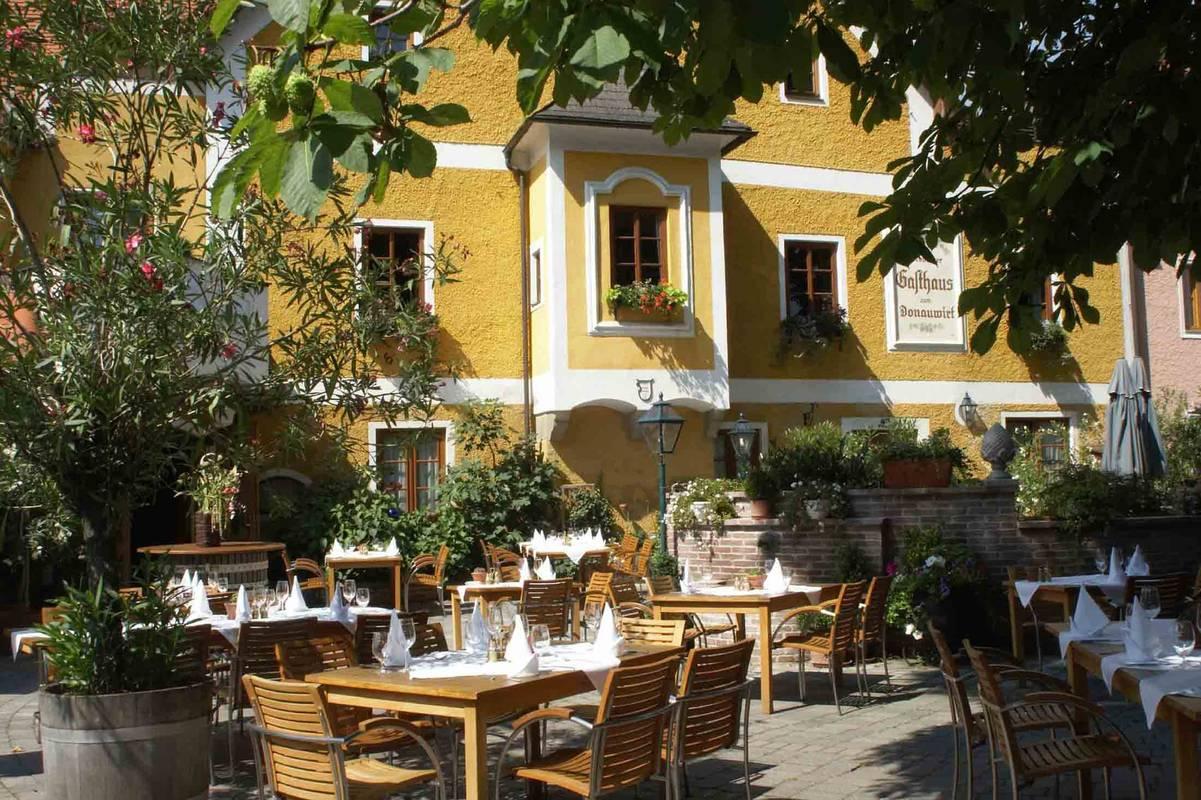 Terrasse Donauwirt