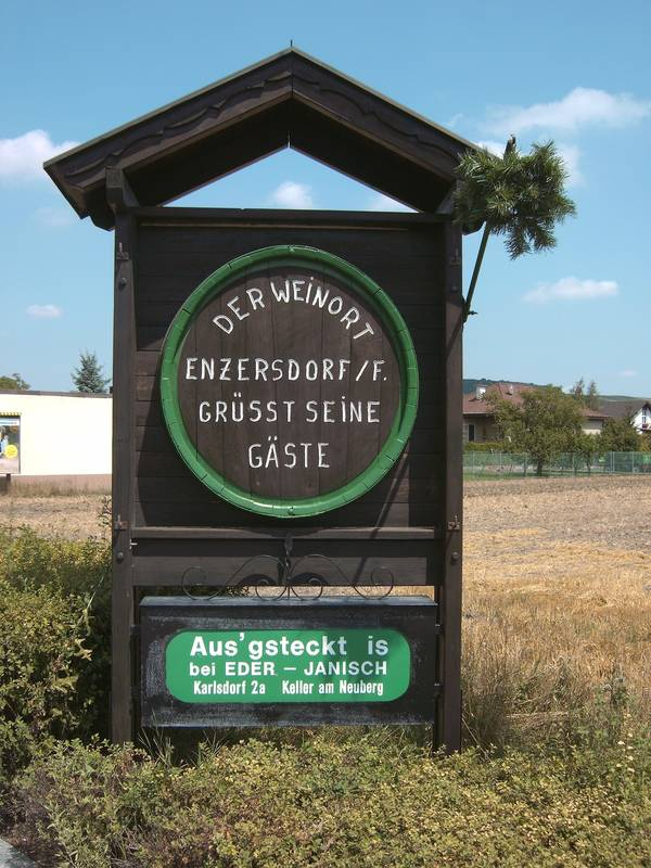 Weinbau-Heurigentafel Enzersdorf an der Fischa