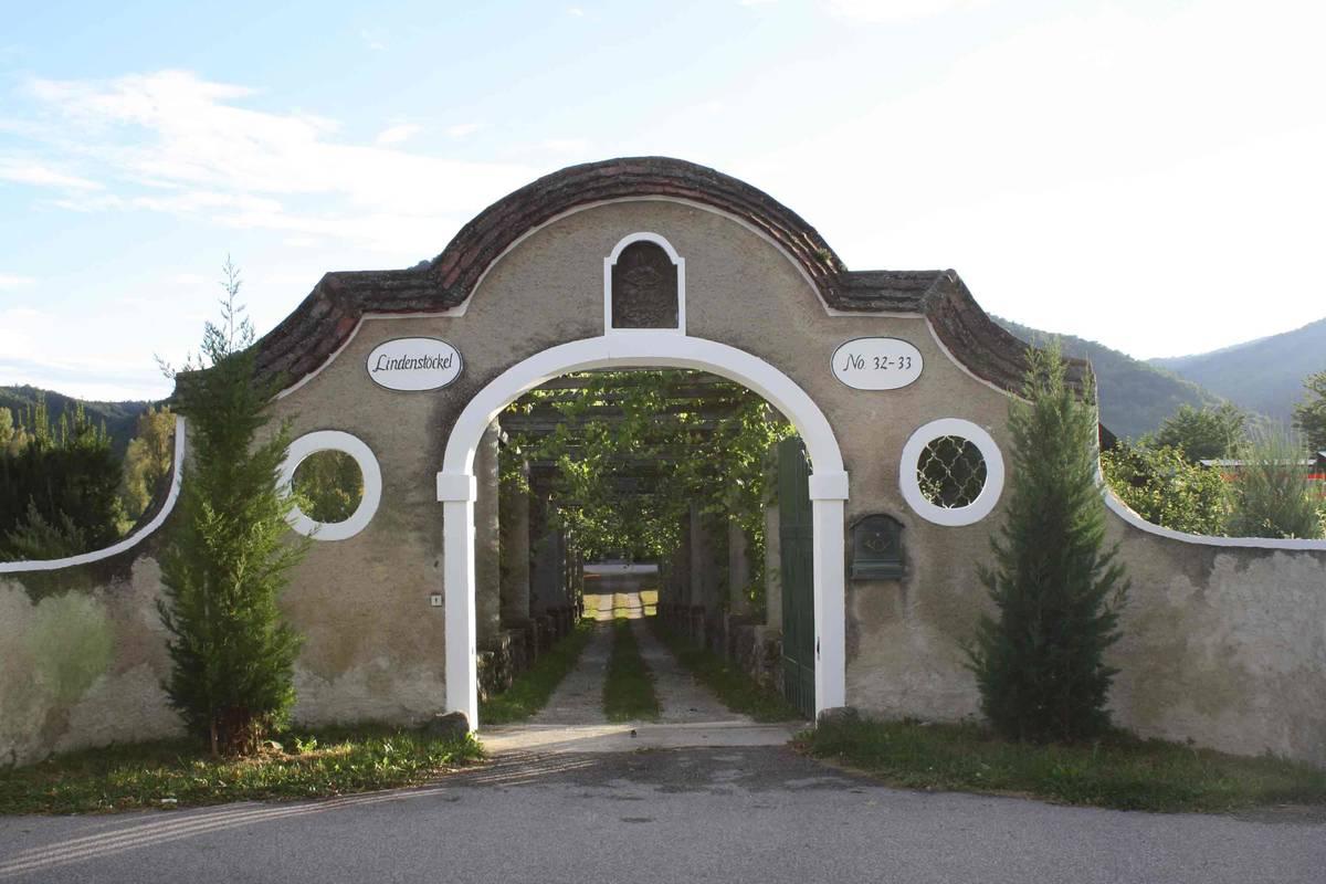 Weingut Schmidl Zufahrt