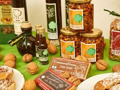 Nussprodukte in Krummnußbaum