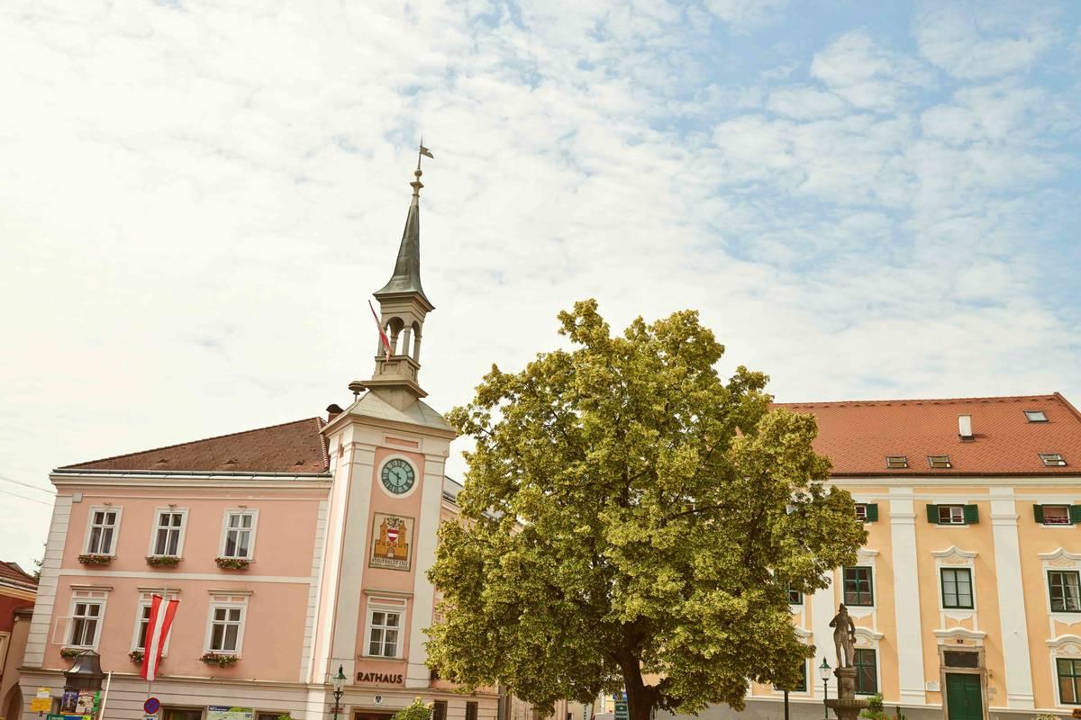 Ybbs Hauptplatz