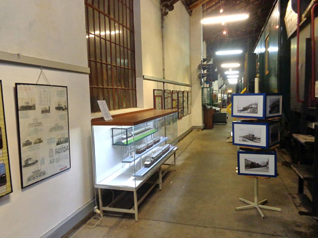 Ausstellung im Eisenbahnmuseum Schwechat