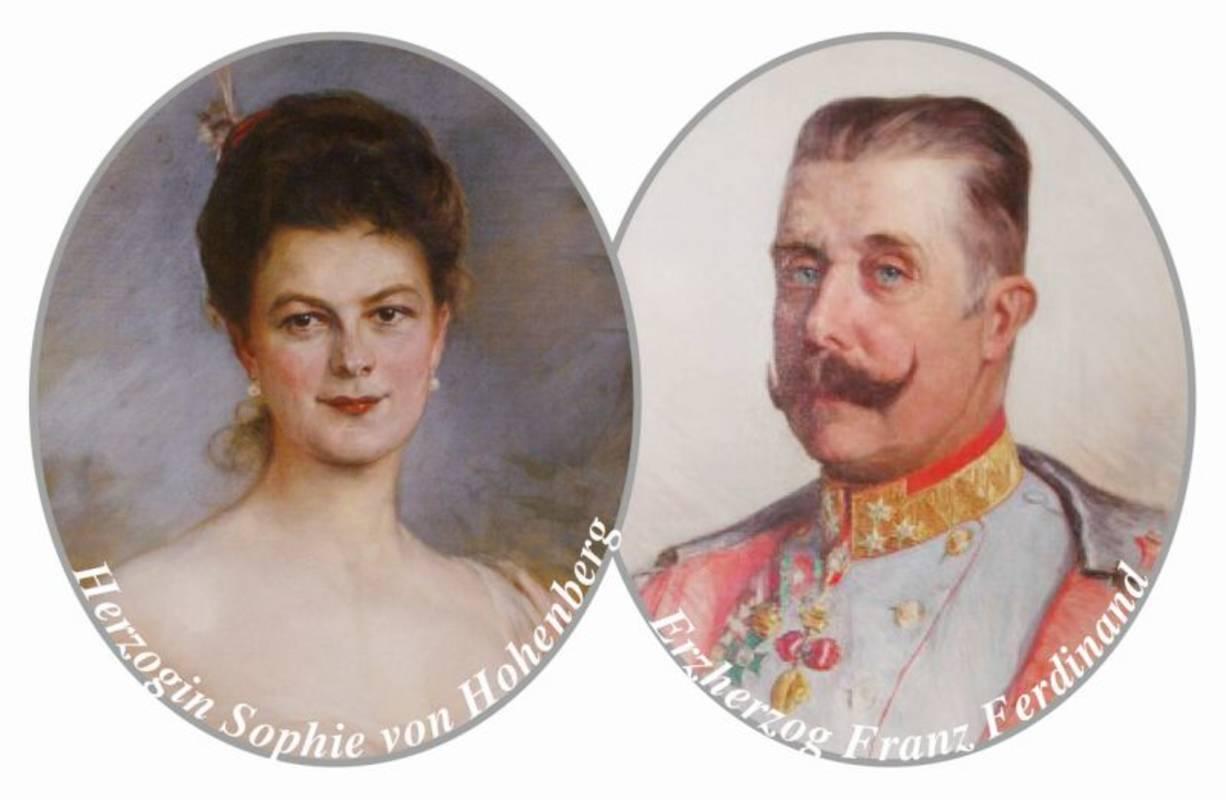 Erzherzog Franz Ferdinand und Sophie Erzherzogin von Hohenberg