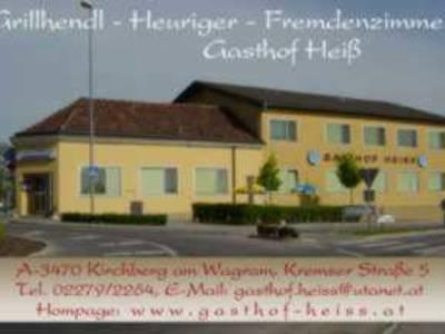 Gasthof mit Text