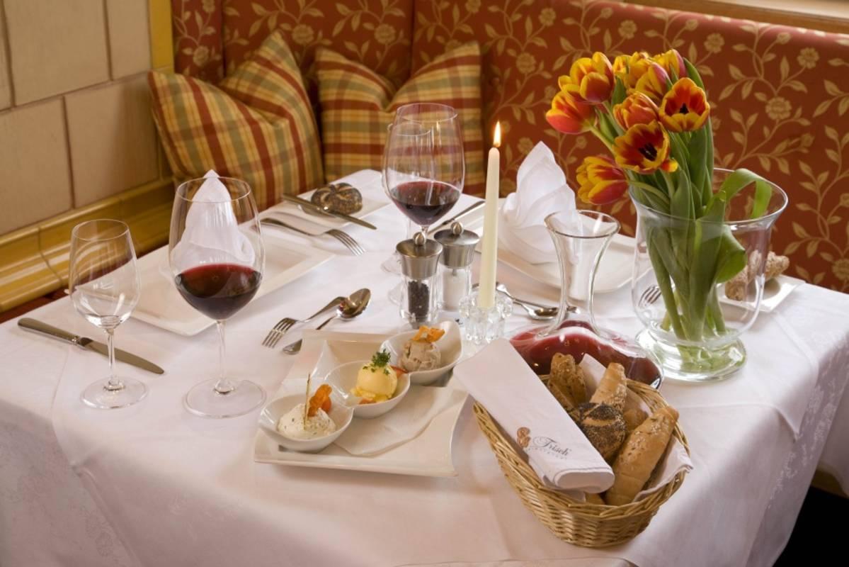 """Speisen vom Hotel """"Wachau"""""""