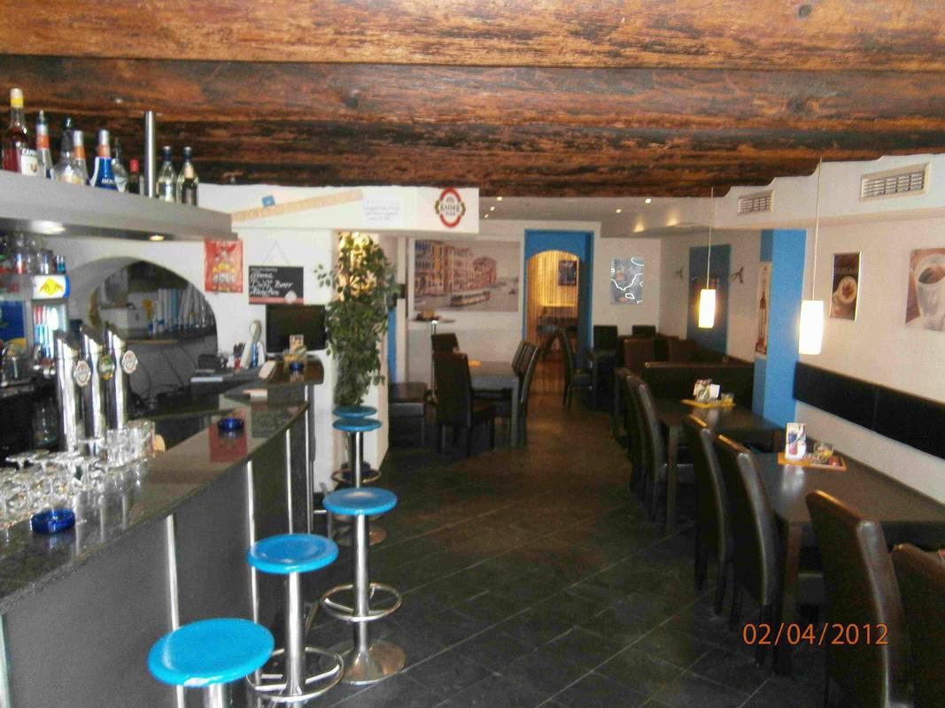 "Café-Pub ""Blue"" Innenansicht"