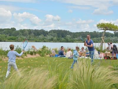 Picknick an der Donaulände