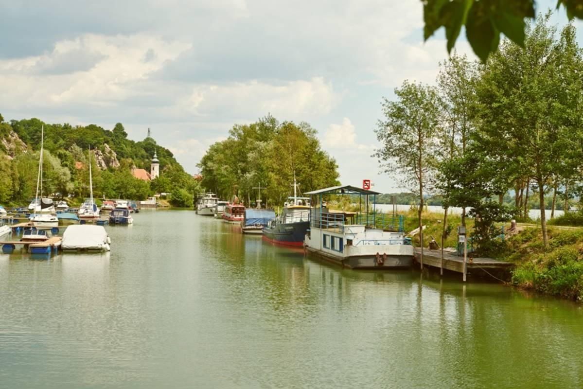 Marbacher Hafen