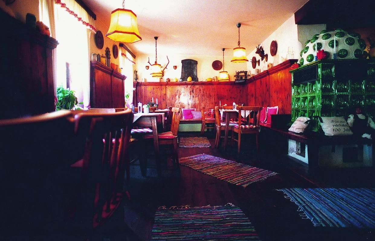 Gaststube im Gasthaus Jell am Hohen Markt in Krems