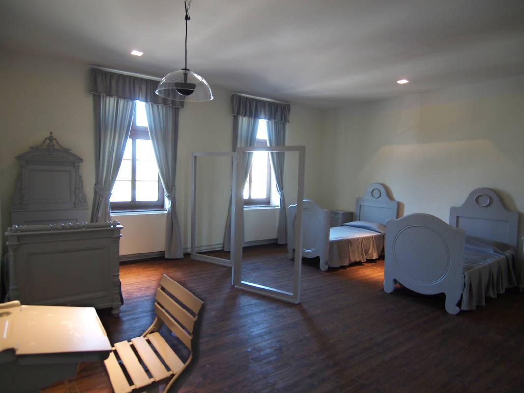 Egon Schiele Schlafzimmer