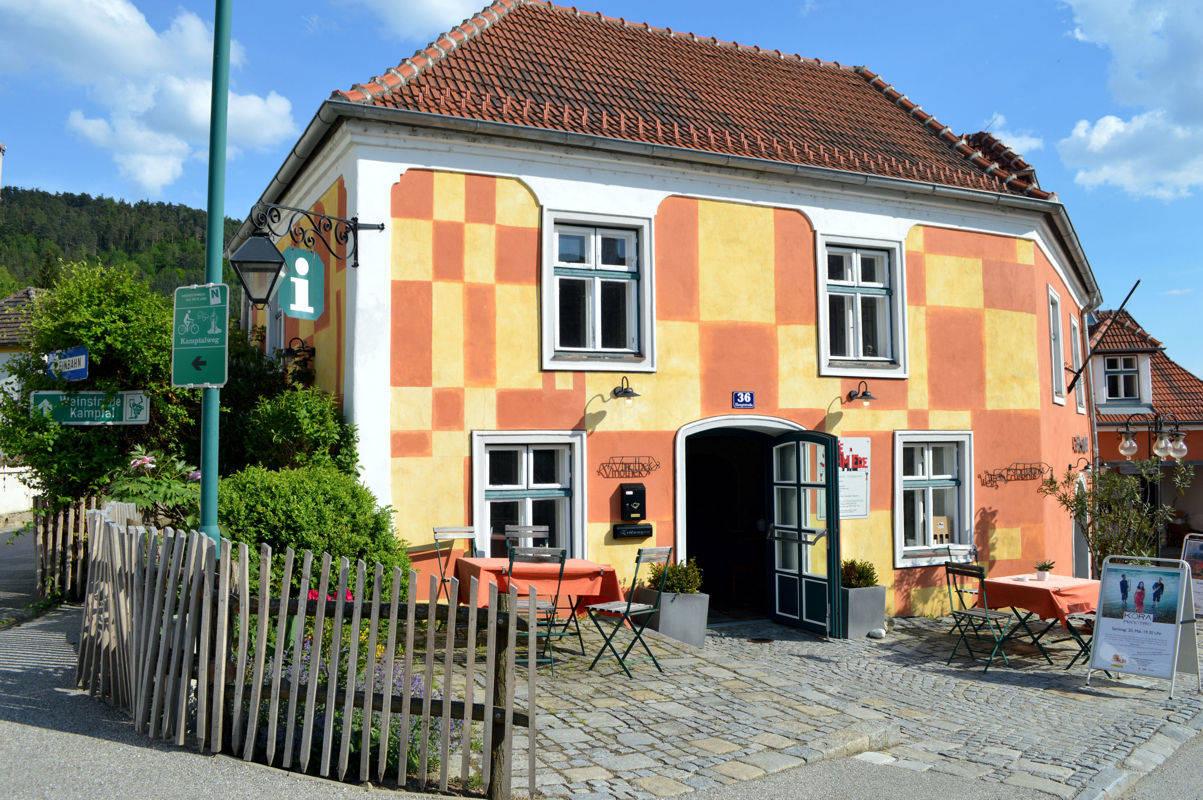 Das Haus mit der außergewöhnlichen Fassade