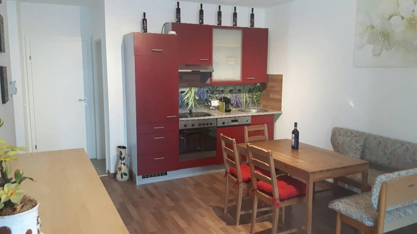 Apartment vor den Toren Wiens, Küche Apartment 1