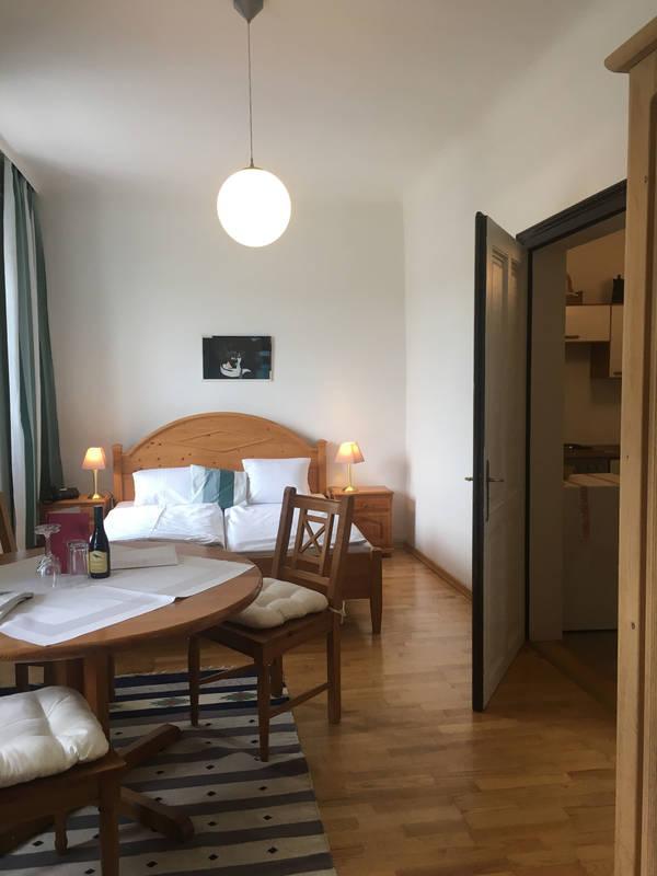 """Schlafzimmer Hotel-Restaurant """"Zum goldenen Anker"""" - Dependance"""
