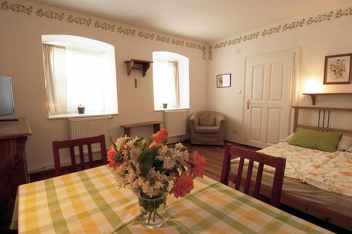 Appartement 1 Wohnzimmer