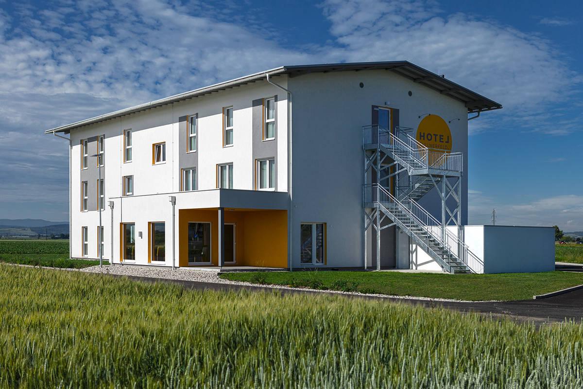 Aussenansicht Hotel Tullnerfeld