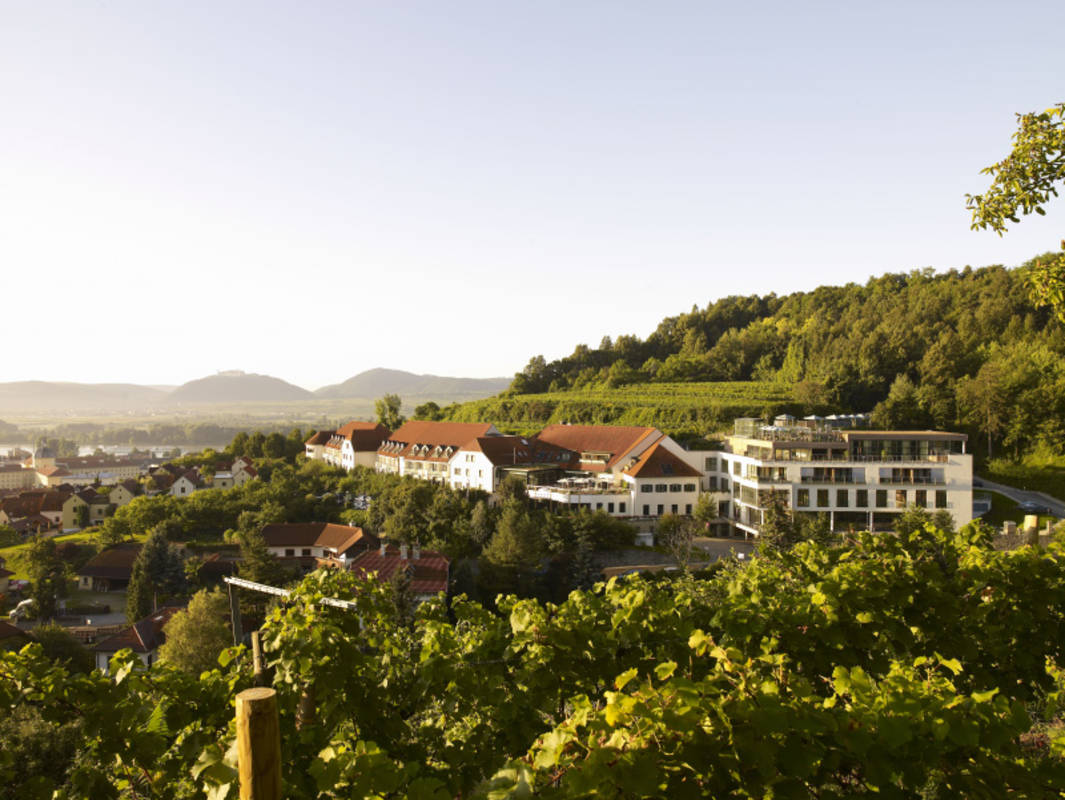 Aussenaufnahme Hotel Steigenberger and spa Krems