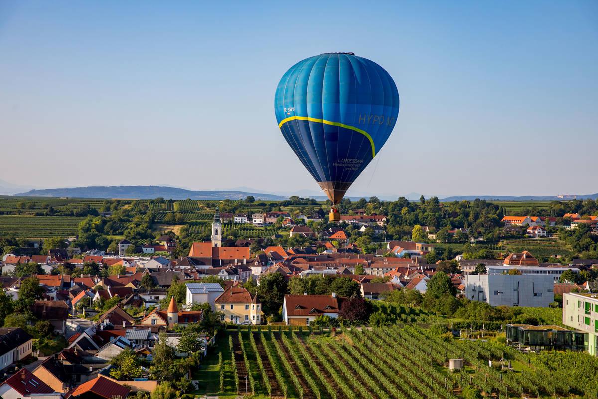 Ballontage Krems-Langenlois 2019 - Ballonfahrt über Langenlois