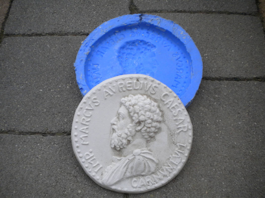 Gipsmünzen, Carnuntum Kunstwerkstatt, Petronell-Carnuntum