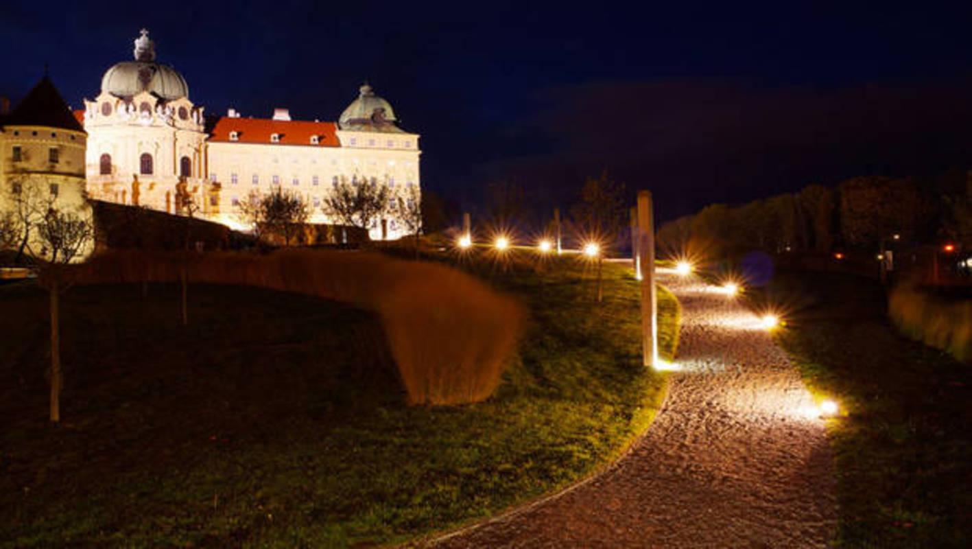 Abendstimmung am Stift Klosterneuburg