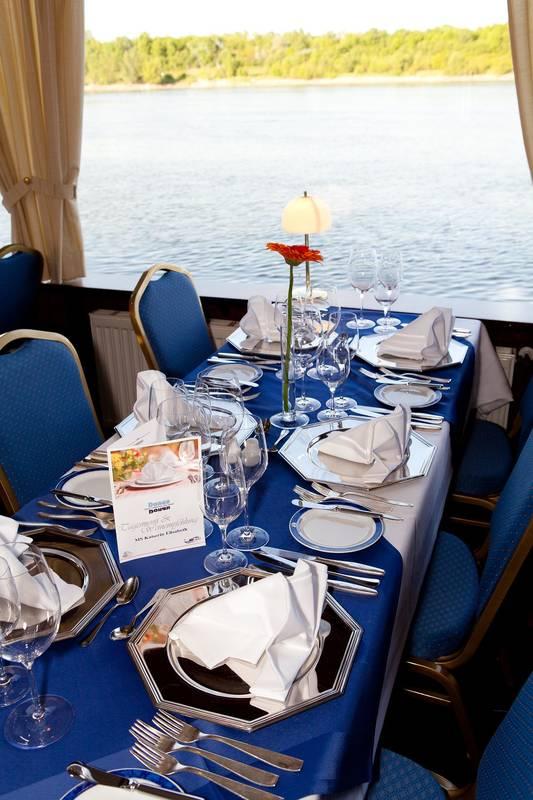 Donau Touristik Gourmetschiff © Tania Marcadella