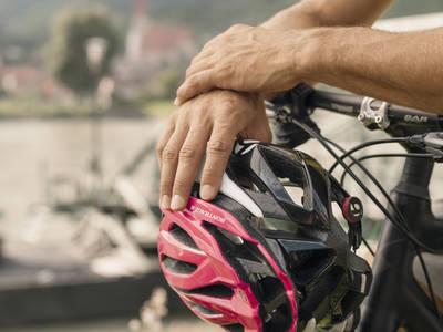 Fahrrad fahren im Sommer