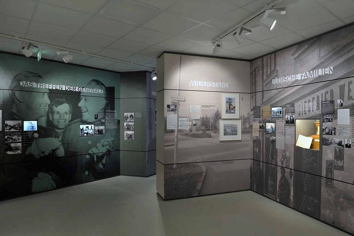 Friedensmuseum Erlauf Innenansicht