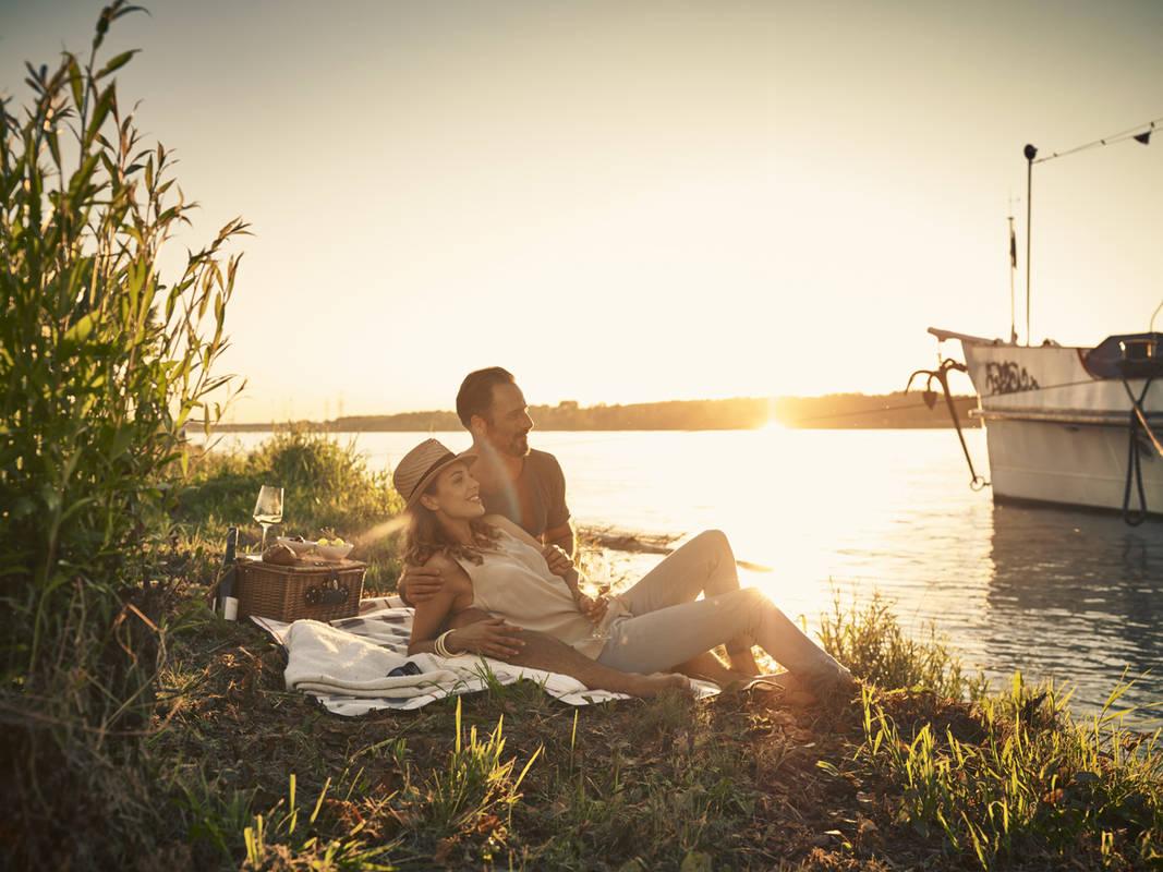 Picknick an der Donaulände Tulln