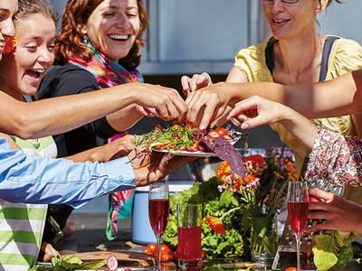 Vielfalt kulinarisch erleben in der Gartenküche