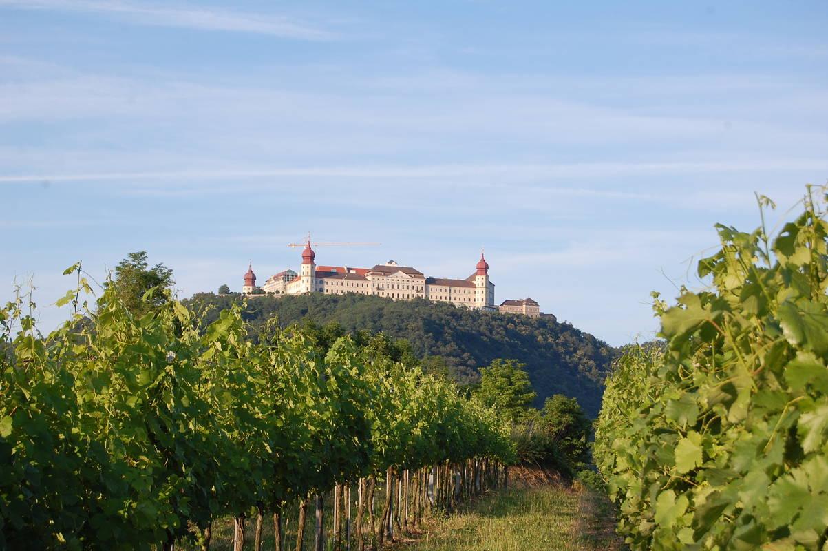 Stift Goettweig mit Weingärten