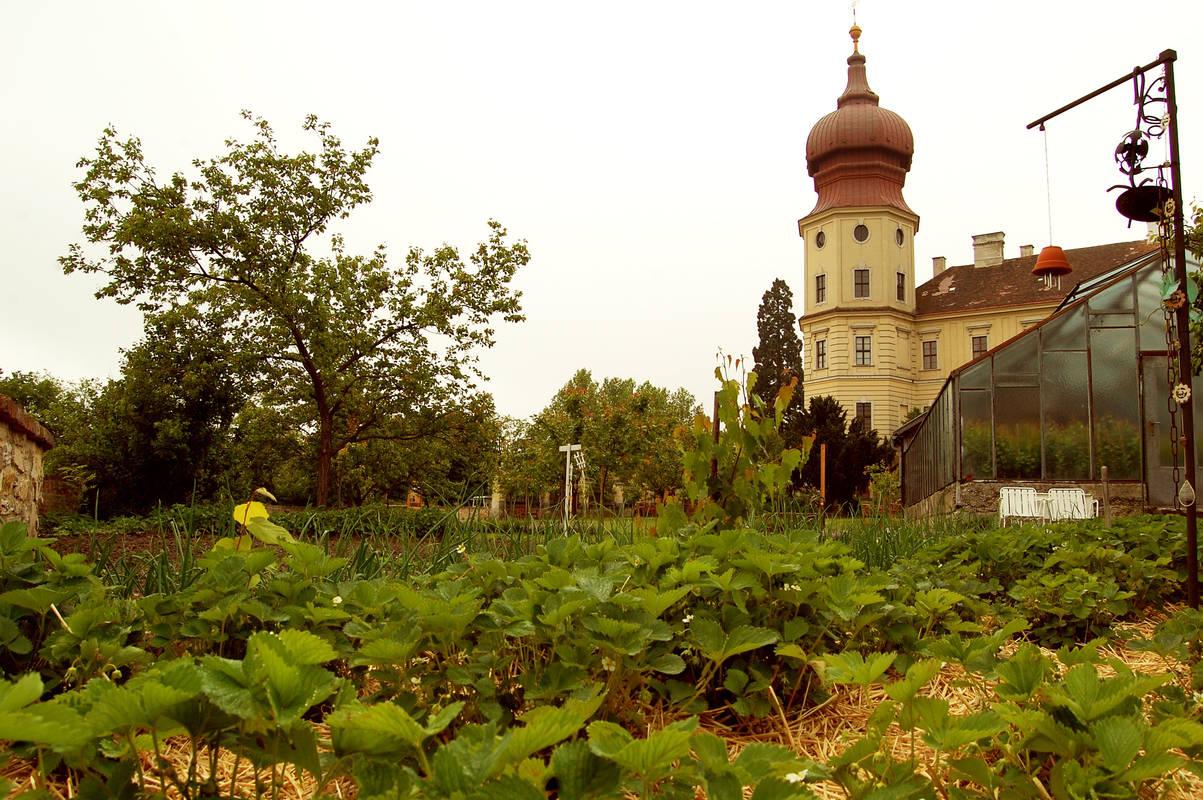 Garten im Stift Göttweig