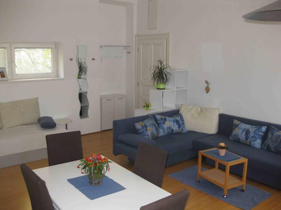Wohnbereich, Apartment Gutmann
