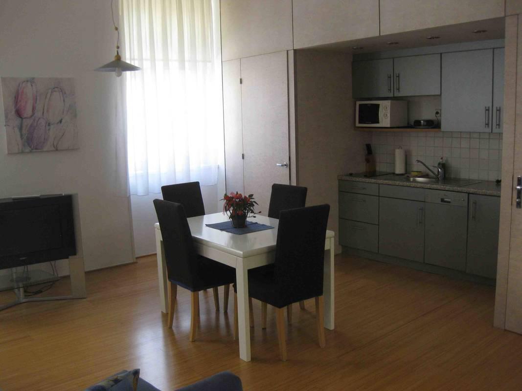 Küche, Apartment Gutmann