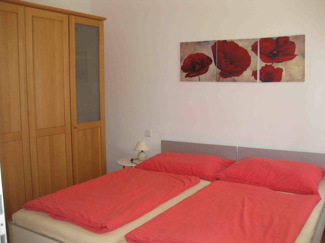 Schlafzimmer, Apartment Gutmann