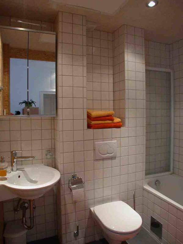 Badezimmer, Apartment Gutmann