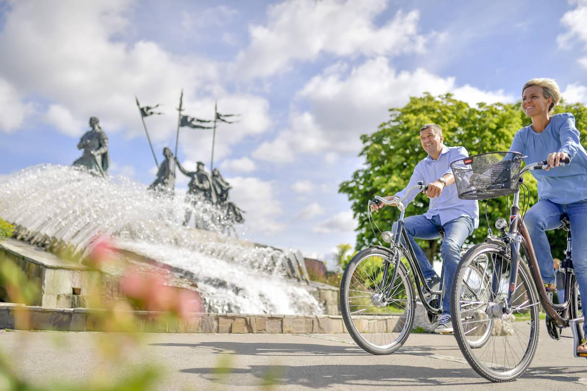 Radfahren in Tulln