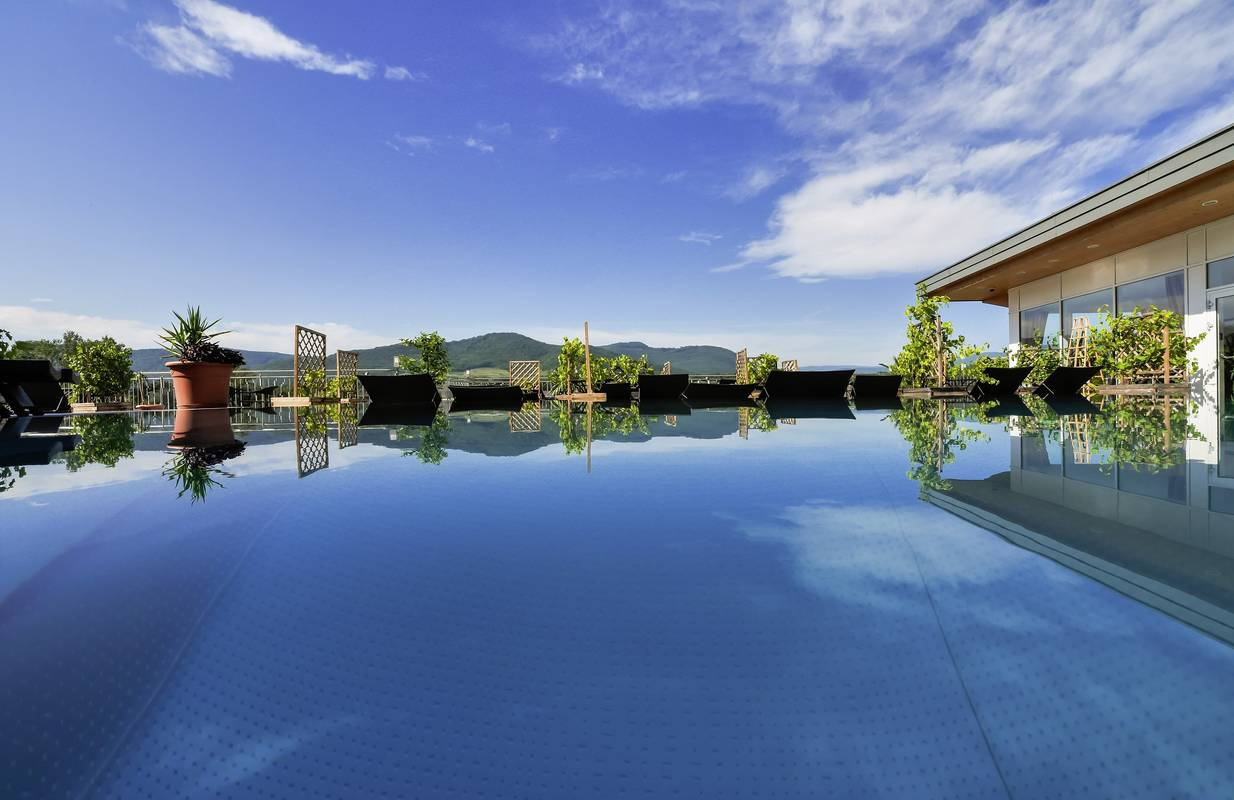 Penthouse Spa mit Pool © Alexander Pfeffel