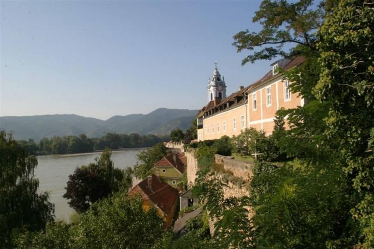 Ausblick vom Klostergarten
