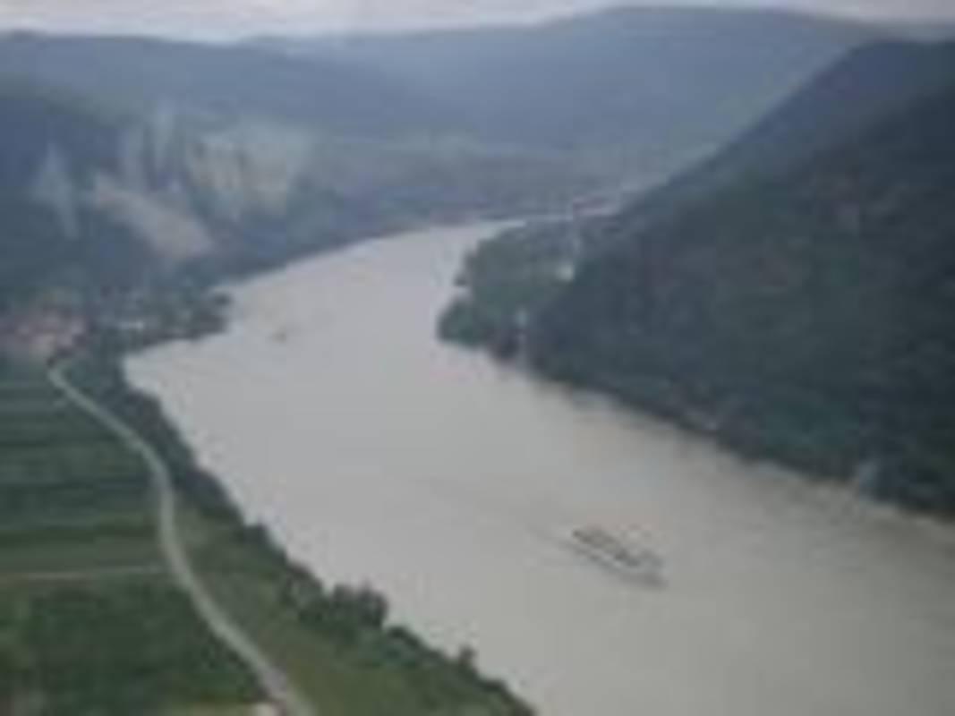 Luftaufnahme Wachau