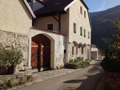 Weingut Langmayer in der Kirchengasse Wösendorf