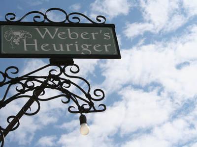 Beschilderung Webers Heuriger